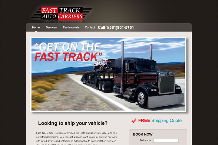fast track auto carriers