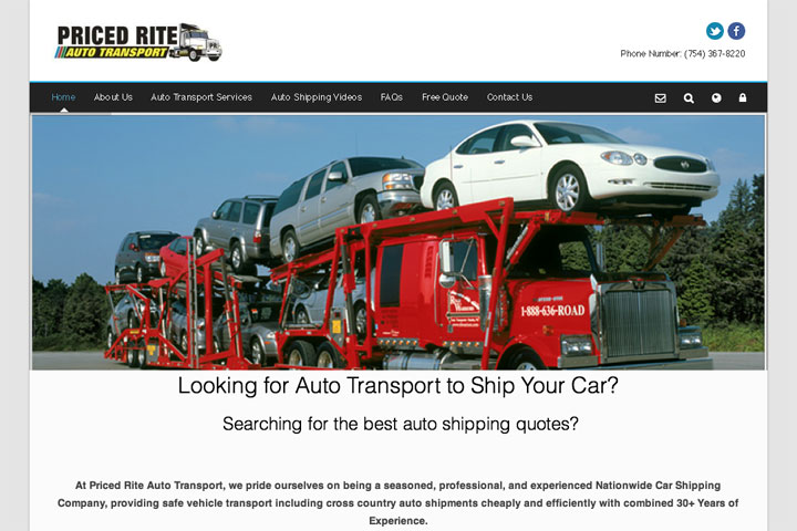 priced rite auto transport